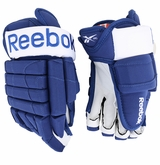 Toronto Maple Leafs Reebok 10K Pro Stock Hockey Gloves � Carl Gunnarsson