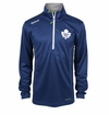 Toronto Maple Leafs Reebok Baselayer Quarter Zip Pullover Performance Jacket