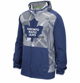 Toronto Maple Leafs Reebok Center Ice TNT Sr. Full Zip Hooded Sweatshirt