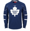 Toronto Maple Leafs Reebok Edge Sr. Long Sleeve Jersey Tee