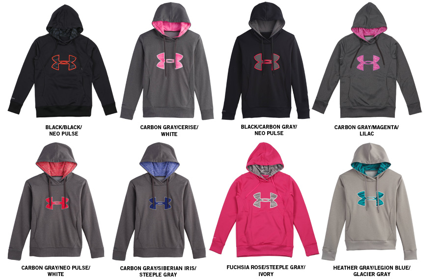 37464a625 womens under armour zip up hoodie