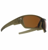 Under Armour Assert Glasses - Satin Crystal Brown w/Brown Lens