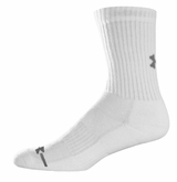 Under Armour Charged Cotton Crew Yth. Socks - 6 Pack