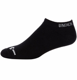 Under Armour Charged Cotton No Show Socks - 6 Pack
