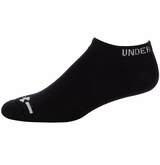 Under Armour Charged Cotton Yth. No Show Socks - 6 Pack