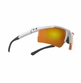 Under Armour Core Glasses - Shiny White/Grey  w/Orange Multiflection