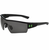 Under Armour Fire Black/Black Game Day Sunglasses