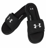 Under Armour Ignite III Boy's Slide Sandals - Black