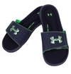 Under Armour Ignite III Boy's Slide Sandals - Navy