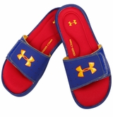 Under Armour Ignite III Boy's Slide Sandals - Royal/Red