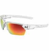 Under Armour Igniter 2.0 Clear/Gray Frame w/ Orange Lens - Multifection