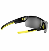 Under Armour Igniter II Shiny Black Frame w/Gray Multiflection Lens
