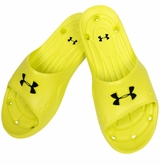 Under Armour Locker II Sr. Slide Sandals - Bitter/Black