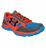 Under Armour Micro G Eng Boy's Training Shoe - Graphite/Blue