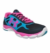 Under Armour Micro G Eng Girl's Training Shoe - Black/Teal/Ice