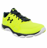 Under Armour Micro G Engage Men's Training Shoe - High-Vis Yellow/White