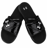 Under Armour Micro G EV II Slide Sandals - Black/Steel
