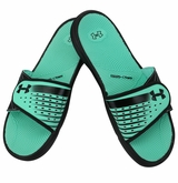 Under Armour Micro G EV II Women's Slide Sandal - Black/Anti-freeze