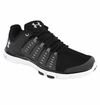 Under Armour Micro G� Limitless 2 Men's Training Shoes - Black/White/Overcast Gray