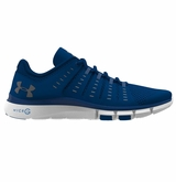 Under Armour Micro G� Limitless 2 Men's Training Shoes - Blue/White/Overcast Gray