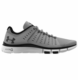 Under Armour Micro G� Limitless 2 Men's Training Shoes - Overcast Gray/White/Black