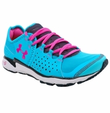 Under Armour Micro G Mantis Women's Running Shoe - Blue/Pink/White