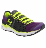 Under Armour Micro G Mantis Women's Running Shoe - Purple/Gray/Green