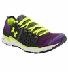 Under Armour Micro G Mantis Women's Running Shoe - Purple/Gray/Bitter Green