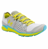 Under Armour Micro G Mantis Women's Running Shoe - White/Silver/Yellow