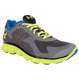 Under Armour Micro G Skulpt Men's Running Shoe - Gray/Yellow