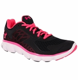 Under Armour Micro G Skulpt Women's Running Shoe - Black/Pink