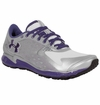 Under Armour Micro G Women's Running Shoe - Aluminum/White/Purple