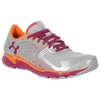Under Armour Micro G Women's Running Shoe - Silver/Rosewood/Heater