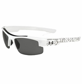 Under Armour Nitro L Multiflection Youth Sunglasses - White