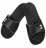 Under Armour Playmaker VI Women's Slide Sandals - Black/Silver