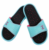 Under Armour Playmaker VI Women's Slide Sandals - Venetian Blue/Neo Pulse