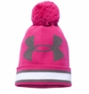 Under Armour Power In Pink Girl's Pom Beanie