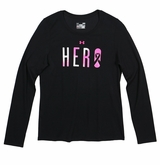 Under Armour 'Power in Pink' Hero Women's Long Sleeve Shirt