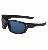 Under Armour Ranger Strom Black/Gray w/Blue Mirror - Polarized