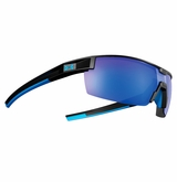 Under Armour Reign Satin Black Frame w/Blue Mirrored Lens - Multiflection