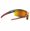 Under Armour Reign Satin Carbon Frame w/Orange Mirrored Lens - Multiflection