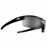 Under Armour Reign Shiny Black Frame w/Gray Multiflection Lens