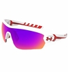Under Armour Rival Shiny Infared Multiflection Sunglasses - White