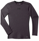 Under Armour Sonic Heatgear Yth. Fitted Long Sleeve Shirt