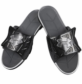 Under Armour Spine II Men's Slide Sandals - Black/Silver