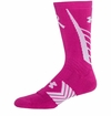 Under Armour Undeniable Power in Pink Men's Crew Socks