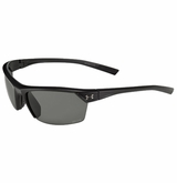 Under Armour Zone 2.0 Satin Black/Gray Sunglasses