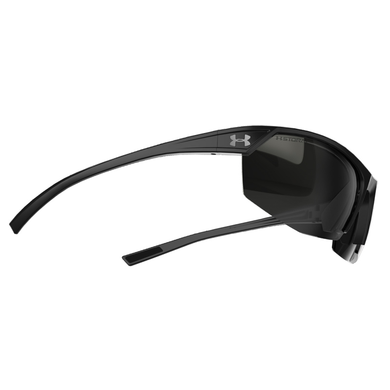 877584767f Under Armour Zone 2.0 Storm Black Gray Sunglasses - Polarized
