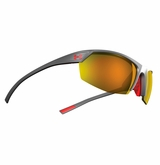 Under Armour Zone II Satin Carbon Frame w/Orange Mirrored Lens - Multiflection