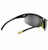 Under Armour Zone II Shiny Black Frame w/Gray Multiflection Lens